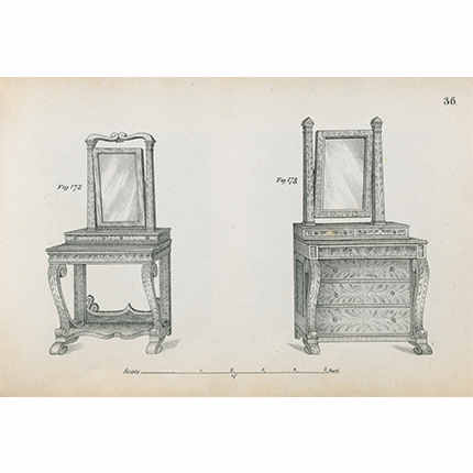 John Hall Cabinet Maker's Assistant, ca. 1840