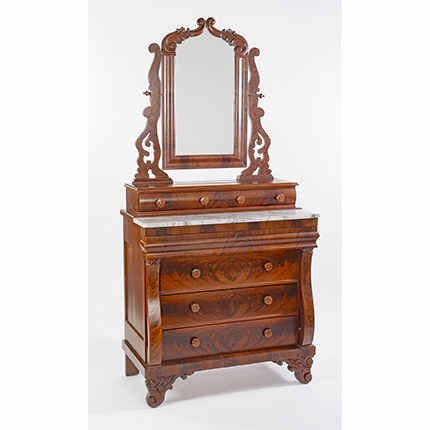 Thomas Day Dressing Bureau, ca. 1840